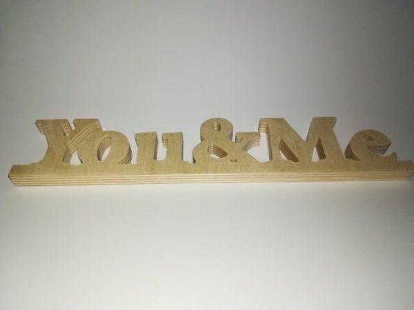 Napis you&me
