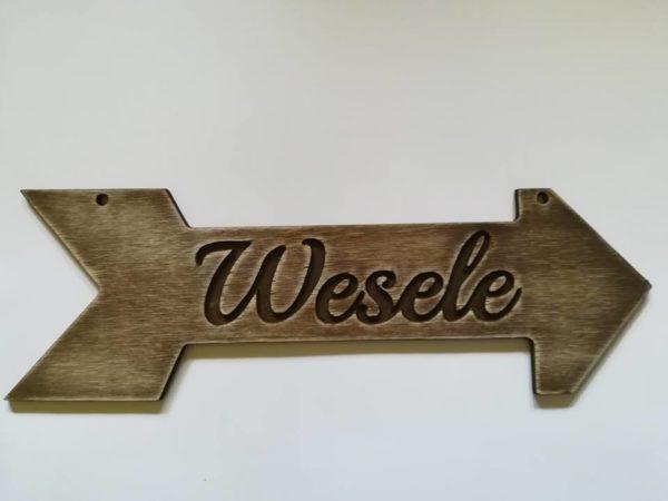 Drogowskaz Wesele