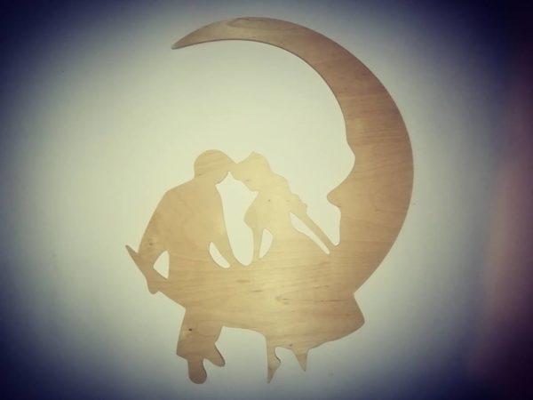 Para na księżycu