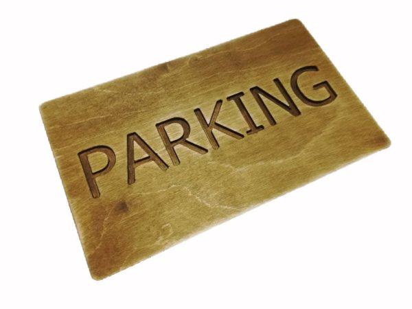 Tabliczka Parking