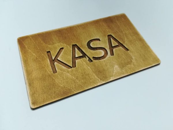 Tabliczka Kasa