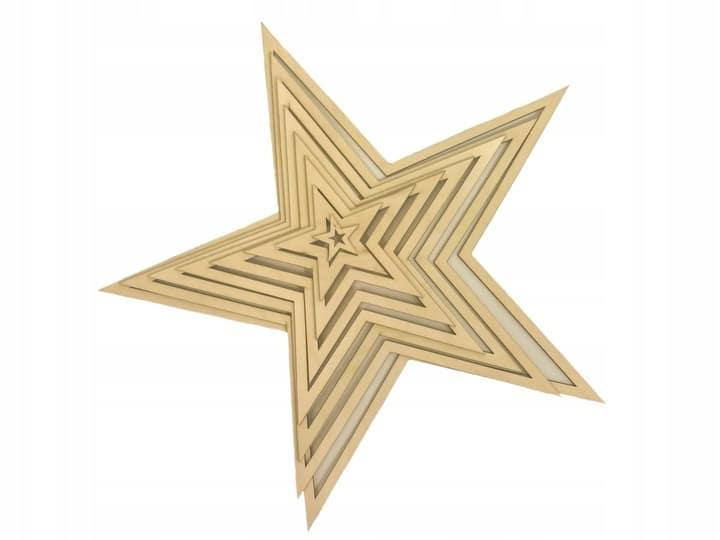 Komplet gwiazd 5-cio ramiennych