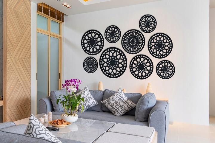 dekoracyjne panele ścienne rozety