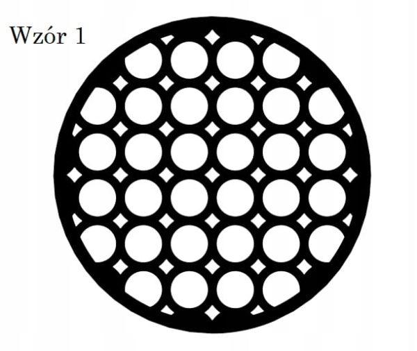 Ażurowa podkładka pod talerz